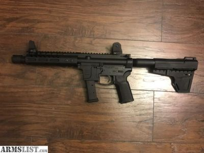 For Sale: 9mm AR Pistol