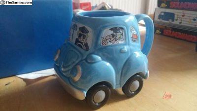 VW Bug Coffee Mug NIB