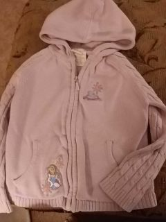 Size 5 Disney sweater with hood