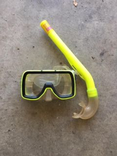 DIVE CLUB HAWAII Mask & Snorkel Set