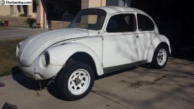 1973 Super Beetle Sedan Project