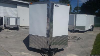 7 x 16 Enclosed Trailer with Extra Height