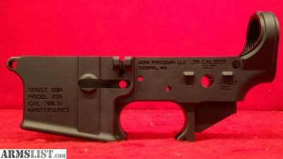 For Sale: Aero Precision G-15 Ghost Gun Stripped AR Lower Receiver