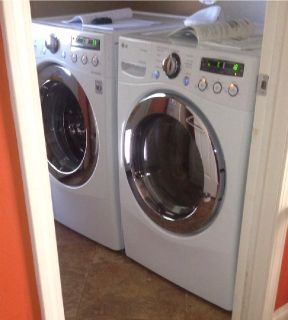 LG Gas Dryer & Washer