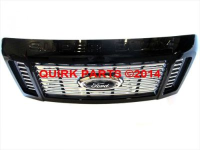 Sell 2008-2010 Ford F250 F350 Super Duty Harley Davidson Black Radiator Grille OE NEW motorcycle in Braintree, Massachusetts, United States, for US $763.90