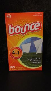 Bounce Dryer Sheets outdoor fresh 105 ct.