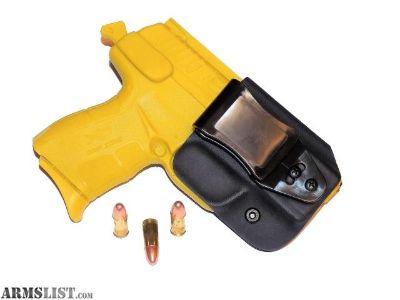 For Sale: Aggressive Concealment XDEIWBLPT Tuckable IWB Kydex Holster Springfield XDE