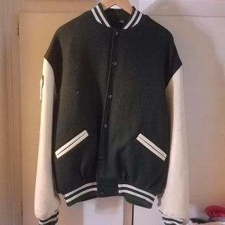 $35 PowerPlay mens varsity jacket