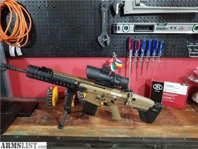 For Sale: LNIB FN SCAR 17s FDE