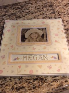 New 12x12 hardbound scrapbook (personalize with any name)