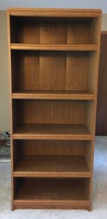 Bookcase 5 shelves-ex cond