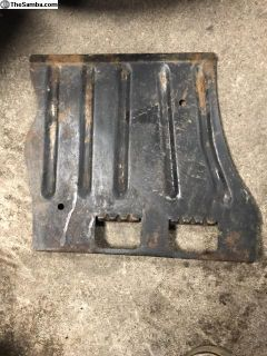 Beetle Right Side Carpet Kick Plate Used