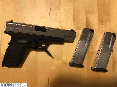 For Sale/Trade: Springfield XD 45 Tactical bi-tone