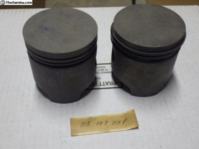 Early Water Cooled NOS Pistons
