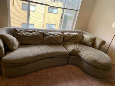 Olive Green couch for sale