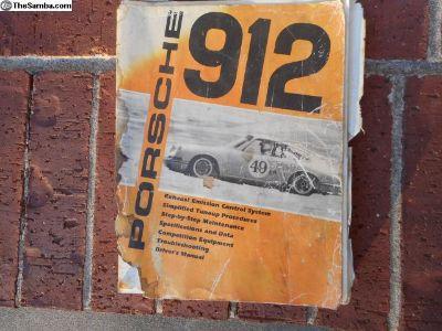 Porsche 912 Vintage Workshop Manual