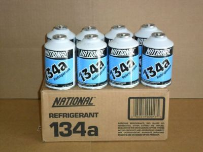 Find ONE CASE OF R-134A REFRIGERANT (12) TWELVE 12 OZ CANS PER CASE motorcycle in Lawrenceville, Georgia, United States, for US $63.20