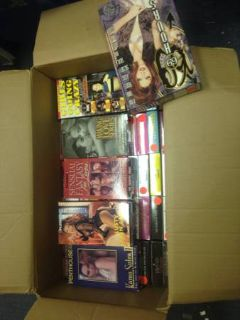 Box of PlayboyPenthouse VHS