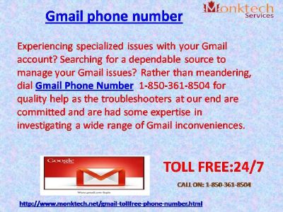 Flush away your problems with Gmail signal 1-850-316-4893