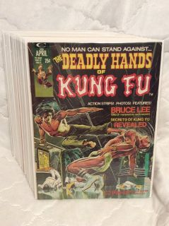 Magazines: Deadly Hands of Kung Fu