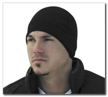 Buy Zan Headgear Fleece Helmet Liner w/ Neoprene Ear Covers Black motorcycle in Holland, Michigan, United States, for US $10.78