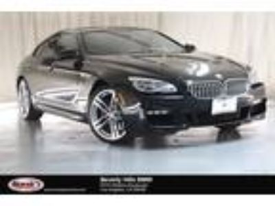 Used 2016 BMW 6 Series Black, 37.3K miles