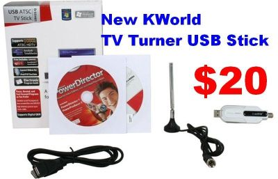 New USB Stick to Watch Digital TV from your PC or Tablet. Makes A Great Gift. See Details Below.