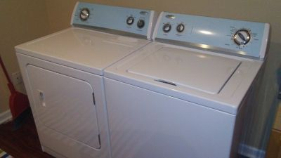 Like New Hardly Used Whirlpool Washer and Dryer Set - Electric