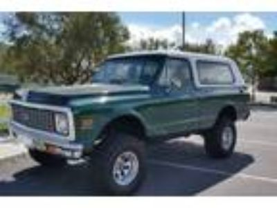 1972 Chevrolet Blazer Base Sport Utility 2-Door