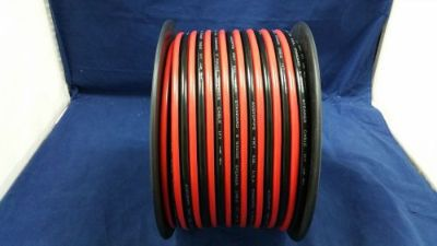 Find 8 GAUGE PER 25 FT RED BLACK ZIP WIRE AWG CABLE POWER GROUND STRANDED COPPER CAR motorcycle in Mulberry, Florida, United States, for US $23.93