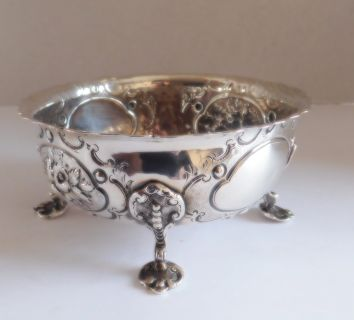Antique Sterling Henry Holland Footed Bowl