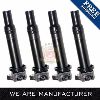Sell Pack of 4 New Ignition Spark Coils For Hyundai Accent Kia Rio Rio5 UF499 5C1586 motorcycle in Los Angeles, California, United States, for US $29.99