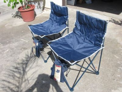 (2) camping chairs in a bag