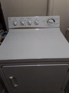 Ge Aurora heavy duty washer and dryer large capacity