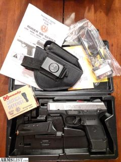 For Sale: RUGER SR40C + Ammo