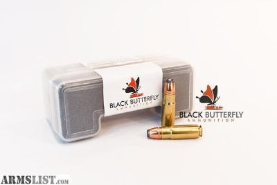 For Sale: BLACK BUTTERFLY PREMIUM .458 SOCOM 300 GRAIN HORNADY JHP - 20 ROUND CASE