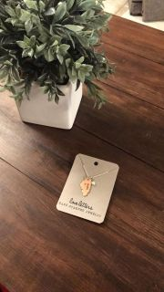 NWT- Illinois home necklace