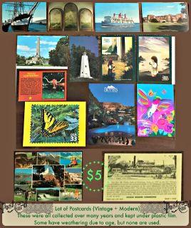 Assorted Postcards
