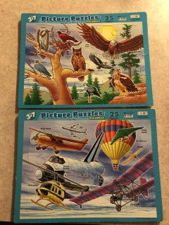 Set of two puzzles.