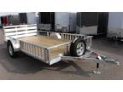 2018 H&H 82x12 Aluminum Rail Side ATV/Utility Trailer