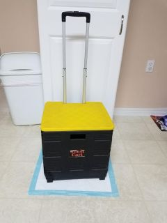 13X15, ABEST CART WITH WHEELS, GREAT CONDITION, SMOKE FREE HOUSE