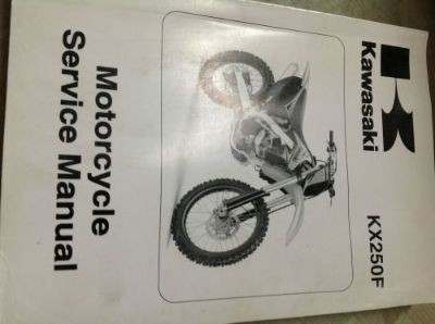 Buy 2009 KAWASAKI KX250F KX 250 F Service Repair Shop Workshop Manual NEW 2009 motorcycle in Sterling Heights, Michigan, United States, for US $145.00