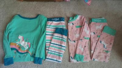 Cat and Jack pajamas, size 5t