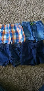 0-3 month shorts