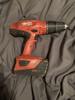 Hilti power drill