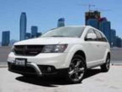 Used 2016 Dodge Journey White, 29.5K miles
