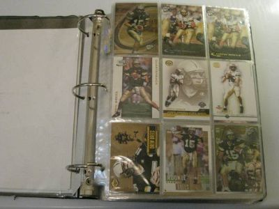 DREW BREES COLLECTOR CARD ALBUM - 330 CARDS