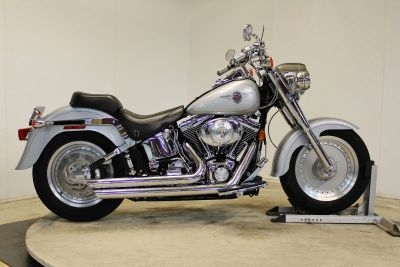 2002 Harley-Davidson FLSTF/FLSTFI Fat Boy Cruiser Motorcycles Pittsfield, MA