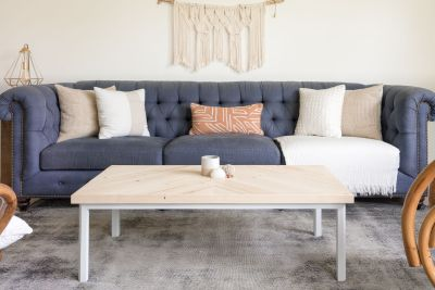 Coffee Table Modern Scandinavian Boho