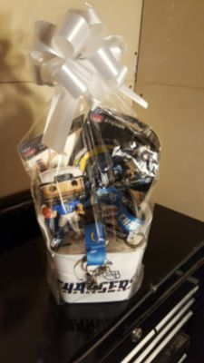 Chargers FATHERS day basket